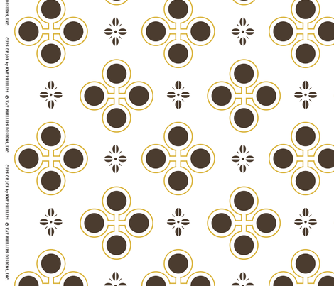 Cups_of_Joe-copyrighted fabric by katphillipsdesigns on Spoonflower - custom fabric