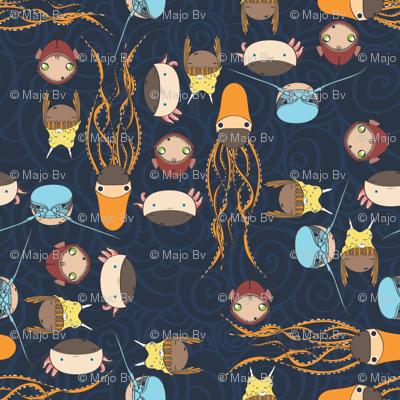 Horrible Deep Sea Creatures turned cute ^_^