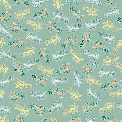 Ditsy Leafy Sea Dragons