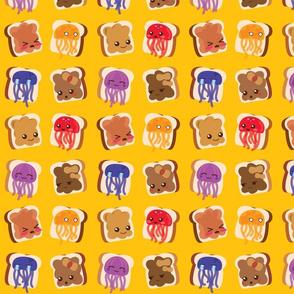 Peanut Butter & Jellyfish Sandwiches!