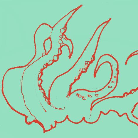 Kraken fabric by boris_thumbkin on Spoonflower - custom fabric
