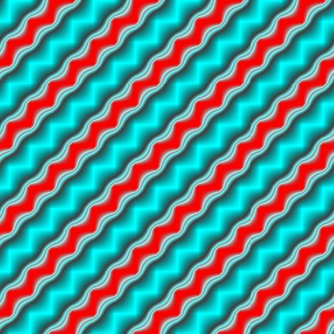 Bluestripe fabric by grannynan on Spoonflower - custom fabric