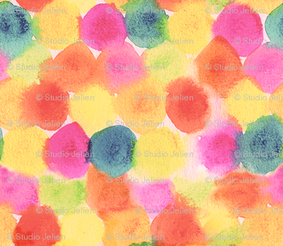 painted dots