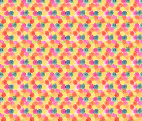 painted dots fabric by studiojelien on Spoonflower - custom fabric