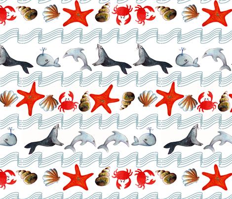 océan oh L fabric by nadja_petremand on Spoonflower - custom fabric
