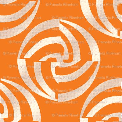 small swirleys - tangerine cream
