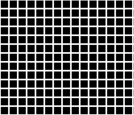 black grid fabric by cristinapires on Spoonflower - custom fabric