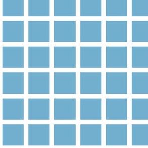 sky blue grid