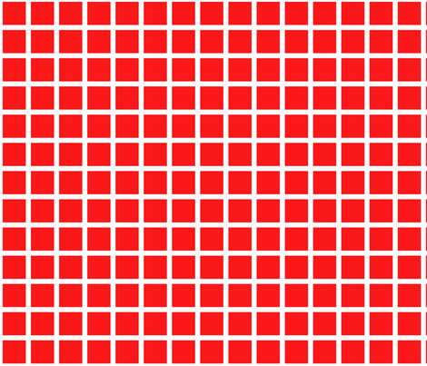 red grid fabric by cristinapires on Spoonflower - custom fabric