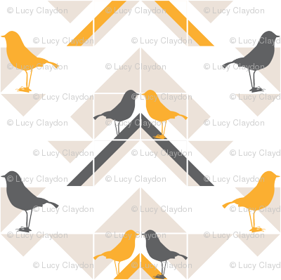 GEOMETRICS/BIRDS NO.2
