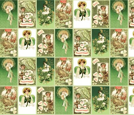 Saint Patrick's fabric by natasha_k_ on Spoonflower - custom fabric