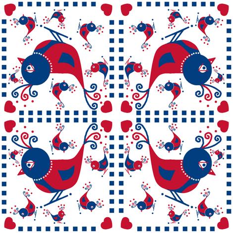 Fine Feathers! fabric by squeakyangel on Spoonflower - custom fabric