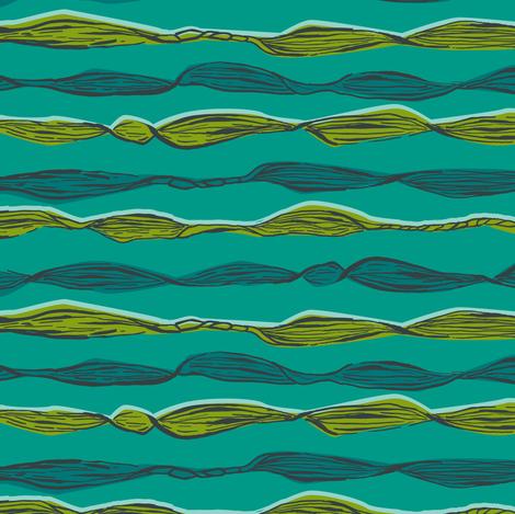 Seaweed Coordinate fabric by gsonge on Spoonflower - custom fabric