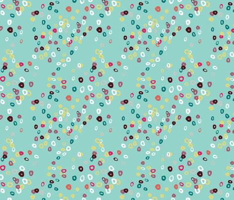 bubble_dots fabric by gsonge on Spoonflower - custom fabric