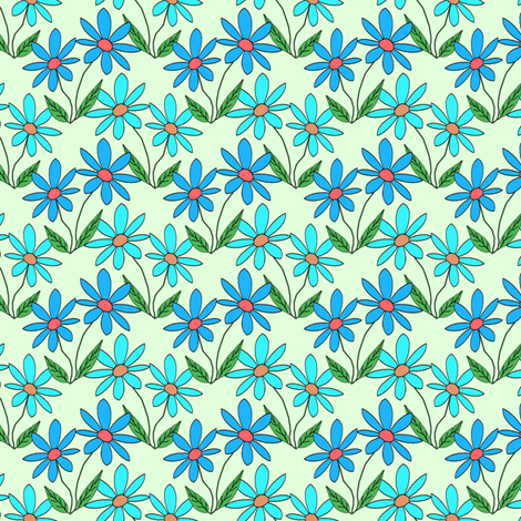 AdaisyNew2 fabric by grannynan on Spoonflower - custom fabric