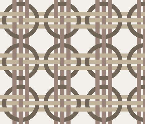 Coffee Weave fabric by syelon on Spoonflower - custom fabric