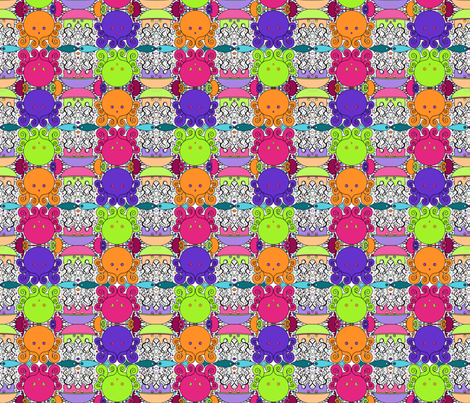 Underwater Magic - Multi fabric by beth_snow on Spoonflower - custom fabric