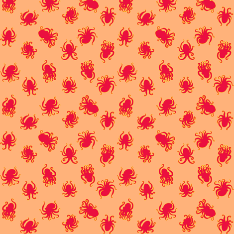 Tiny Octopuses fabric by jadegordon on Spoonflower - custom fabric