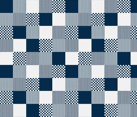 checkitout tin glaze fabric by glimmericks on Spoonflower - custom fabric