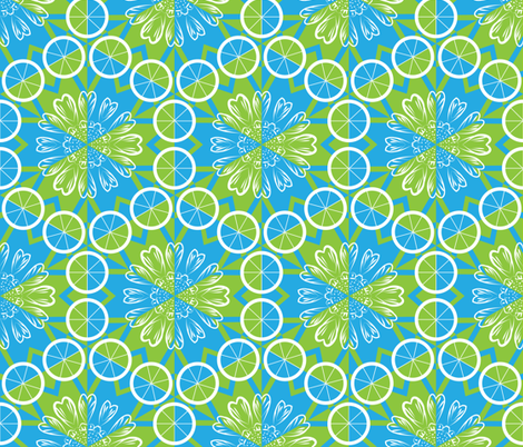 It's Wheel Love fabric by owlandchickadee on Spoonflower - custom fabric