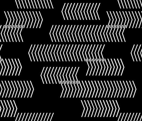 sideways black fabric by cristinapires on Spoonflower - custom fabric