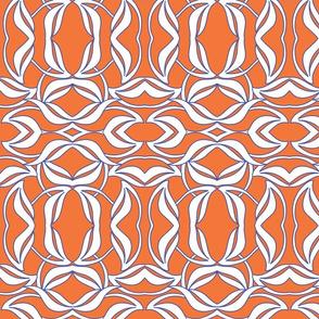 deco leaves orange