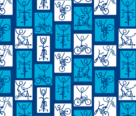 Look Ma, No Hands fabric by coloroncloth on Spoonflower - custom fabric