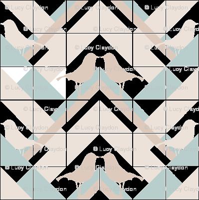 Geometrics/Birds No.11