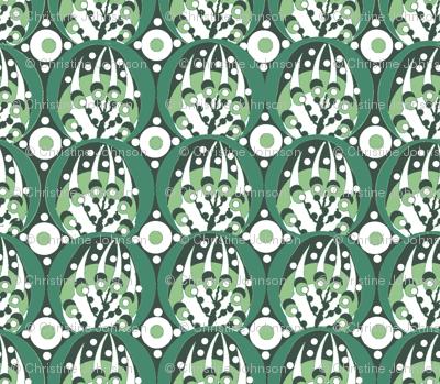 deco / spring green