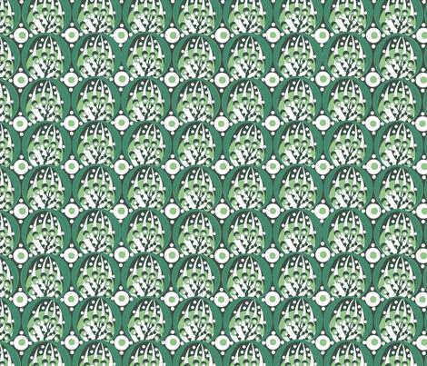 deco / spring green fabric by paragonstudios on Spoonflower - custom fabric