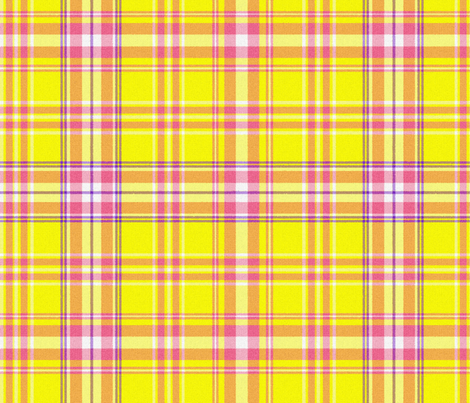Abby Plaid fabric by peacoquettedesigns on Spoonflower - custom fabric