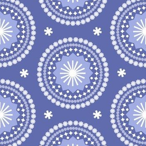 Bandana* (Shadow) || scarf handkerchief stars starburst circles flowers fireworks geometric outer space galaxy mandala