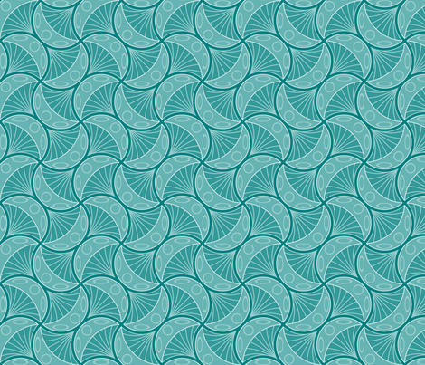 jellyfish 4g fabric by sef on Spoonflower - custom fabric
