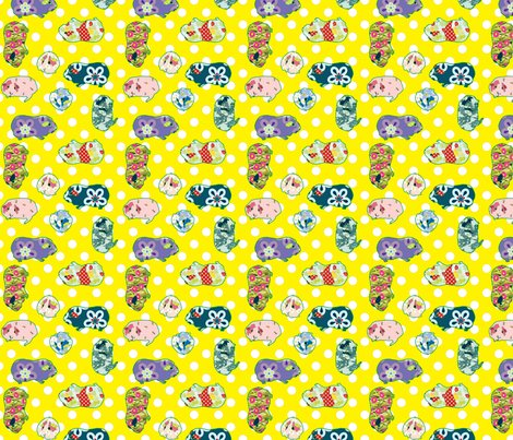 Guinnea_pig_pattern_all_over_150dpi_quilting_scale_merged_yellow_shop_preview