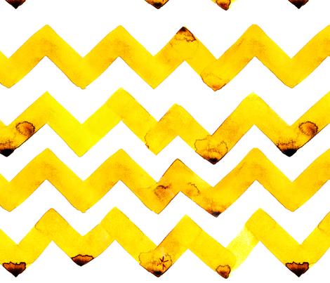 cestlaviv_NEW lemon twist fabric by @vivsbeautifulmess on Spoonflower - custom fabric