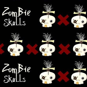 zombie skulls X