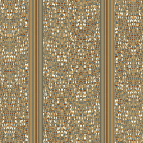 Mid Century Weave and Stripe  fabric by joanmclemore on Spoonflower - custom fabric