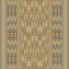 Mid Century Woven Stripes