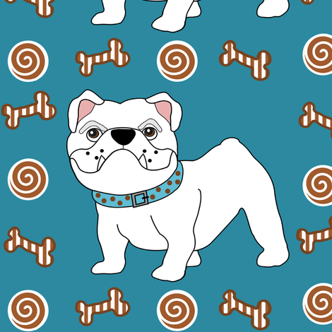Little Bully 3 fabric by missyq on Spoonflower - custom fabric