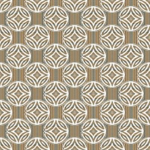 Mid Century Circles Diamonds and Stripes