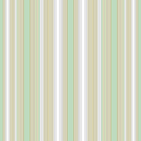 Farmhouse Stripe Aqua fabric by joanmclemore on Spoonflower - custom fabric