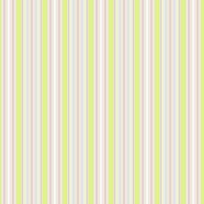 Farmhouse Stripe pink and celery