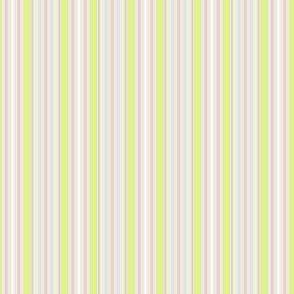Farmhouse Stripe pink and celery