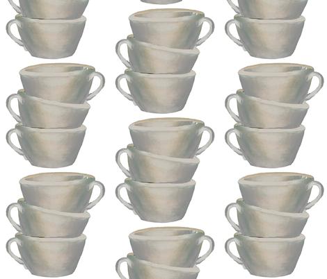 Cups, cups, cups fabric by karenharveycox on Spoonflower - custom fabric