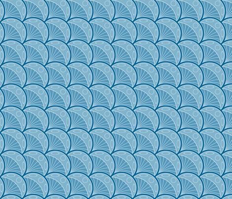 jellyfish 1x fabric by sef on Spoonflower - custom fabric
