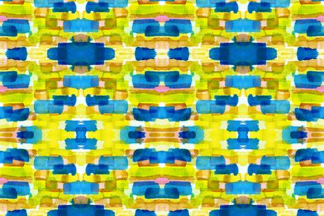 cestlaviv_CAPE_waterlemontwist fabric by cest_la_viv on Spoonflower - custom fabric
