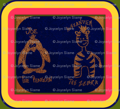 Joe the Penguin & Alexander the Zebra
