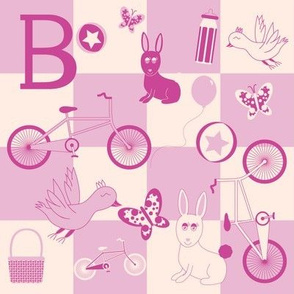 """B is for...Bicycles"" (Pink Version)"