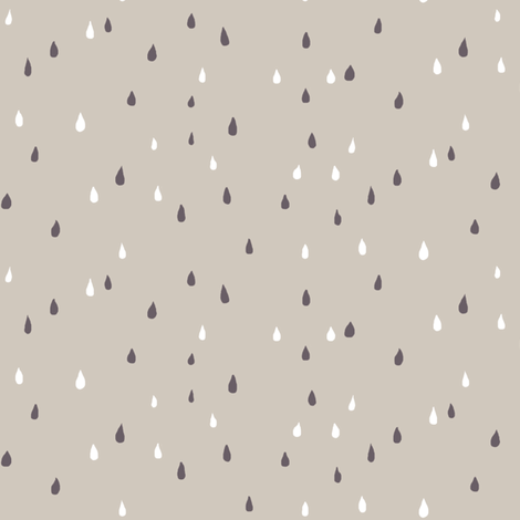 rain fabric by katarina on Spoonflower - custom fabric