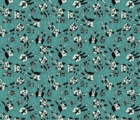 Jellicle Jellies fabric by mongiesama on Spoonflower - custom fabric